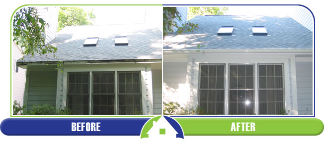 Gutters - Before & After